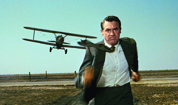 A scene from North by Northwest. ©MGM Studios