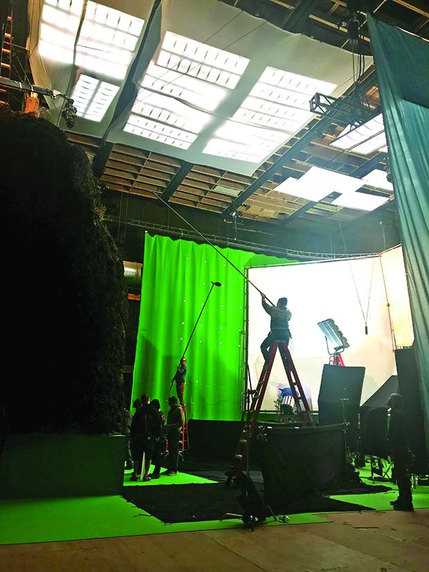Inside Utah Film Studios & Curley's setup.