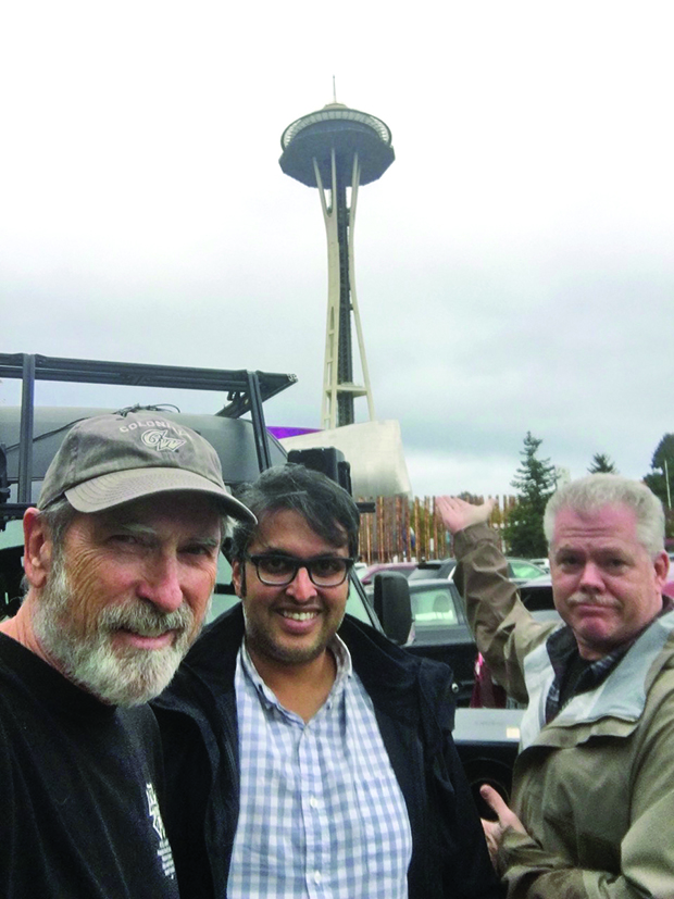 Matt Landry (695), Aashish Gandhi (695/600) and Jim McDonald (695) in Seattle for Station 19