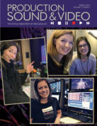 Three remarkable women who chose to pursue careers in video and engineering, clockwise from left: Cheyenne Wood; Jillian Arnold and Haley Burnett; Burnett.